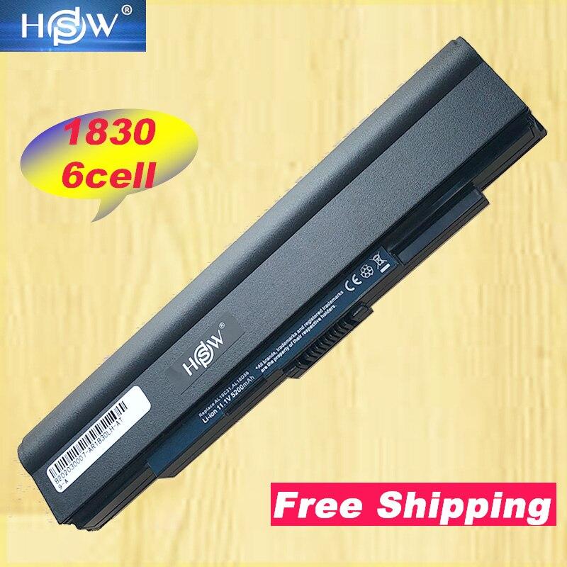 HSW 6 hücre Pil Için Acer Aspire 1400 1425 p 1430Z 1430 1500 1551 1800 1830 1830 T 1830TZ için aspire One 1500 1551 720 721 750