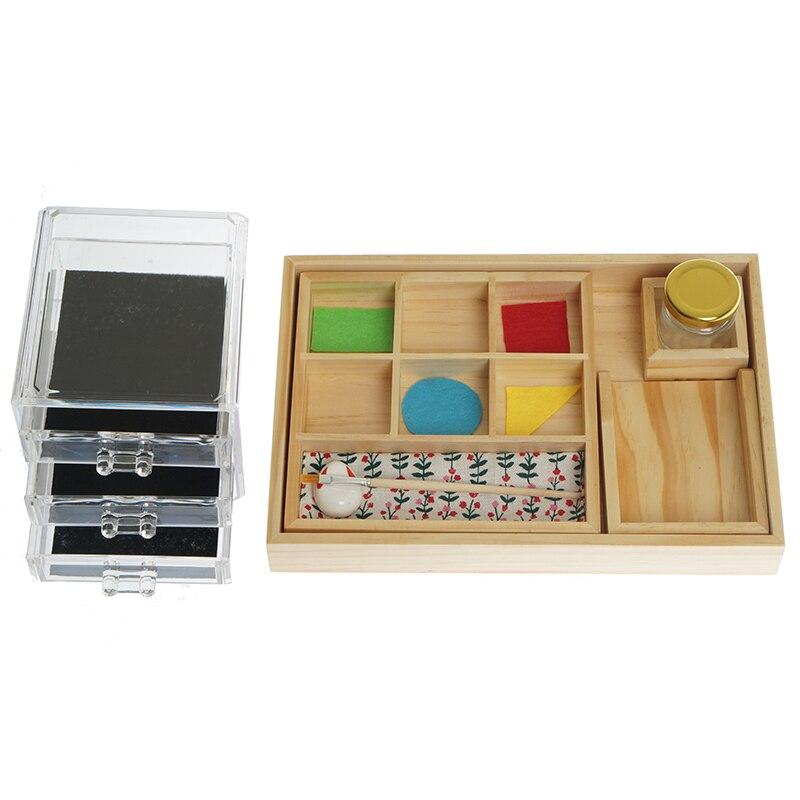 Materiales prácticos Montessori, equipo educativo para edades tempranas, juguetes para niños de entre 1,5 y 6 años, trabajo pegado