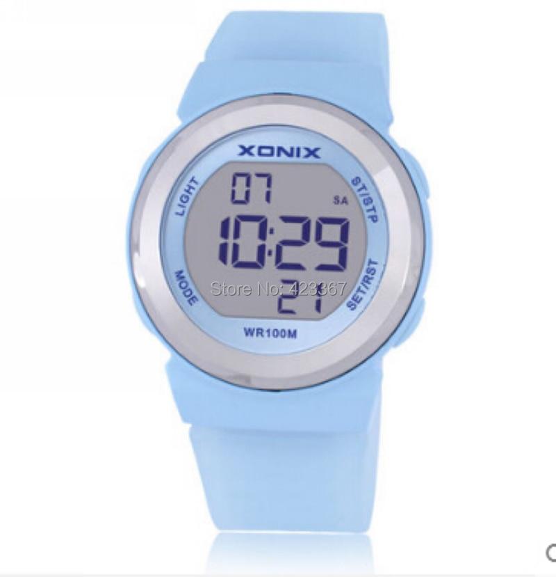 Reloj deportivo para mujer, con iluminación Led Digital, resistente al agua, 100 m, reloj deportivo para mujer, reloj para nadar y bucear, reloj para niñas al aire libre