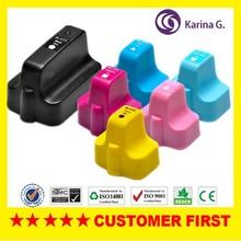 6X  compatible ink cartridge  for HP177 hp 177 For Photosmart  C5183 Photosmart C5185 Photsmart D7145