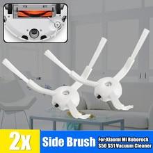 2Pcs 사이드 브러시 액세서리 Xiao mi Mi Roborock S50 S51 진공 청소기 로봇 가전 청소 도구 브러쉬