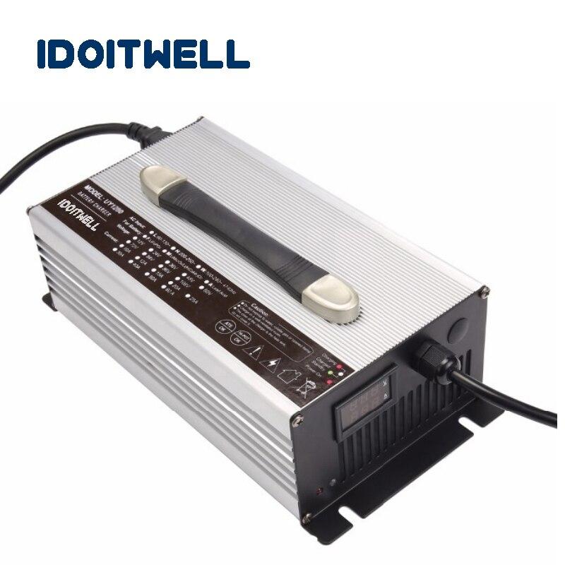 Cargador de energía de batería 48V 25A personalizado lifepo4 lithium 48V cargador de batería para Sopladores de nieve eléctricos o soplador de nieve