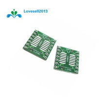 50 pièces SOP14 SSOP14 TSSOP14 à DIP PCB SMD DIP/plaque dadaptation pas 0.65/1.27mm GM