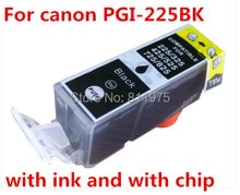 15 pcs frete grátis pgi 225 cartucho de tinta compatível para canon pixma ix6520/ip4820/ip4920 mg5120/mg5220 // impressora de mg5320