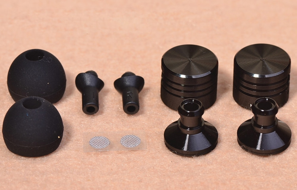 Aipinchun DIY Metal Outer Shell In-Ear External Housing Case Cover for 10mm Headphone Speaker Unit