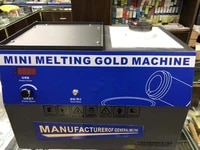 induction heater melting machine gold melting furnace small inducing heating smelting gold and silver furnacer