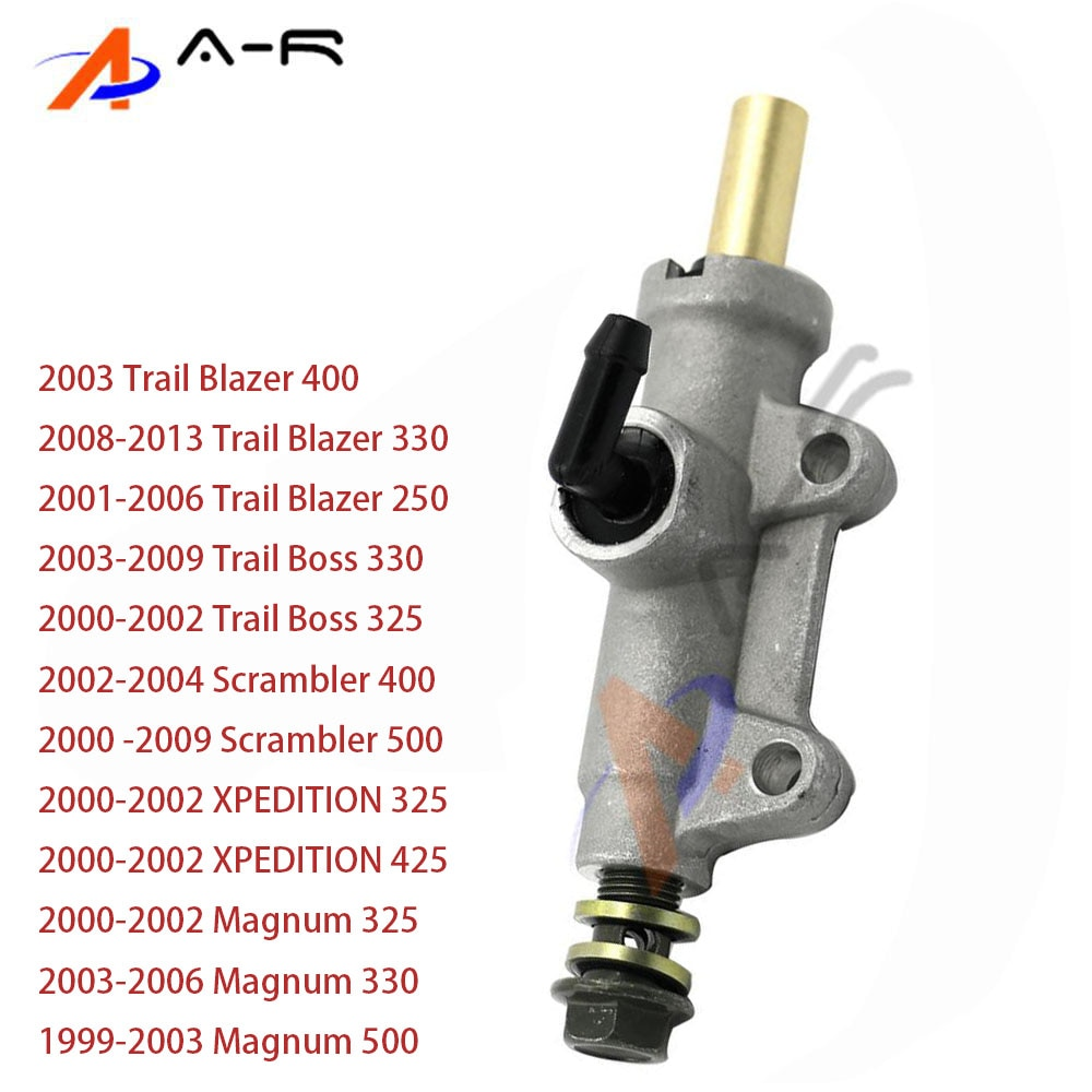 For Polaris Trail Blazer 250 330 400 / Magnum Trail Boss 325 330 Scrambler 400 500 XPEDITION 325 425 Rear Brake Master Cylinder