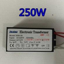 1 pièce 250W 220 V-12 V LED pilote transformateur alimentation halogène lampe électronique protection contre les courts-circuits plus récent livraison directe 2020