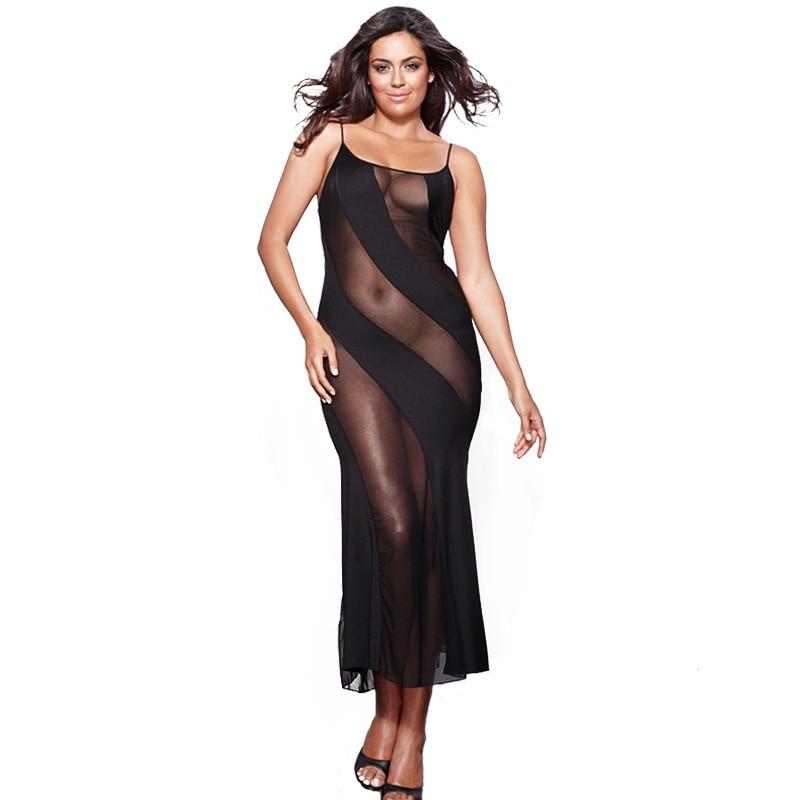 Ночная рубашка женская, сексуальное эротическое белье, платье для сна большого размера 4XL 5XL 6XL