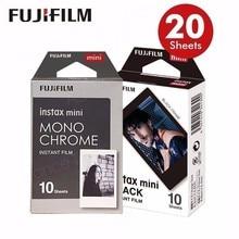 2017 Véritable Fujifilm Fuji Instax Mini Film AIR MAIL Monochrome Mono Cadre. Film pour 70 8 Plus 90 25 Caméra SP-1 SP-2 lomo