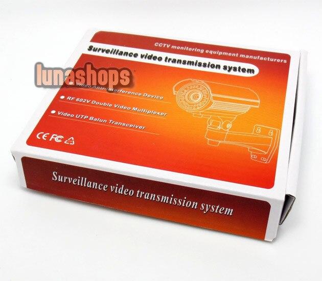 LN003530 2-4 canales de cámara de Video BNC multiplexor de señal caja de adaptador para CCTV