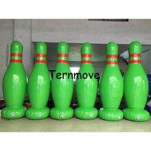 Boule gonflable de Bowling de jeu de bowling de PVC de quilles gonflables géantes de 1.8 m, jeu géant de sport de zorb de boule de Bowling