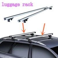 2* Fit For Subaru Outback 2015-2016 Top Roof Rack Rail Mount Aluminum Adjustable