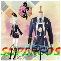 free shipping new touken ranbu online gokotai uniform cosplay costume perfect customized for you