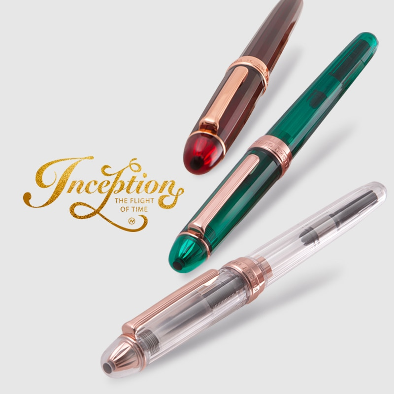 Japão natami caneta fonte do vintage cor caneta spotlight caneta fountian 1 pçs
