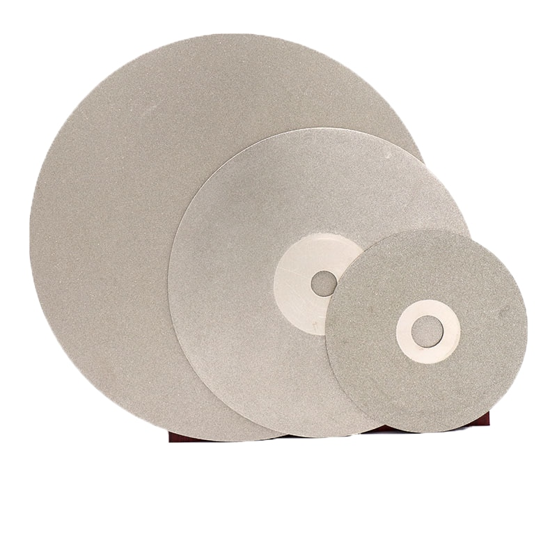 """6 """"дюймов 150 мм Грит 60-3000 алмазный шлифовальный диск абразивный диск с покрытием плоского круга для драгоценных камней ювелирные изделия вулканическое стекло Керамика"""