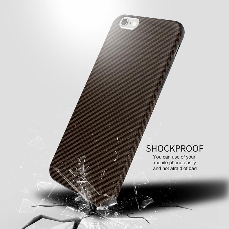 Najnowszy środowiska carbon fiber case dla iphone 6 6s plus miękkie antypoślizgowa anti-puk pokrywy dla iphone 7/plus skóra skóra torba 22