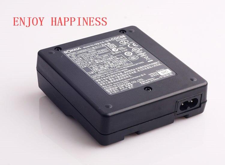 CDC68 double chargeur pour Sokkia BDC46 BDC58 BDC70 batterie Station totale