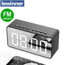 Enceinte Bluetooth colonne Portable sans fil haut-parleurs basse stéréo Subwoofer avec mains libres TF carte AUX MP3 lecteur réveil