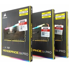 CORSAIR PC de escritorio Memoria RAM Memoria módulo 16GB 2X 8GB Dual-Canal DDR4 RGB PRO PC4 3000Mhz 3200Mhz 3600Mzh nuevo DIMM