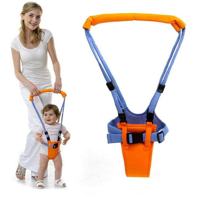 Nuevo arnés de niño pequeño bebé seguro caminar aprendizaje asistente cinturón niños niño ajustable andador puente Correa cinturón
