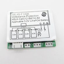 4 s 12,8 v 100A MIT Balance 3,2 v LiFePo4 Lithium-eisen phosphat Lebensdauer der Batterie Zelle PCB BMS Schutz Bord