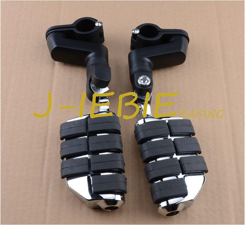 Reposapiés delantero negro para Honda VT750 Shadow 750 VT750C ACE