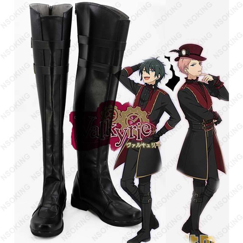 Nuevo conjunto de botas Cosplay de estrellas mika, zapatos de Anime hechos a medida