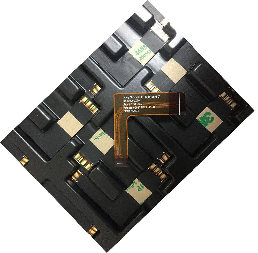 Nova marca Para Lenovo ThinkPad T440S T440 T450 T450S T540P W540 FPC Touch pad cabo digital DA30000CX10 NF-A054 SC10D92873