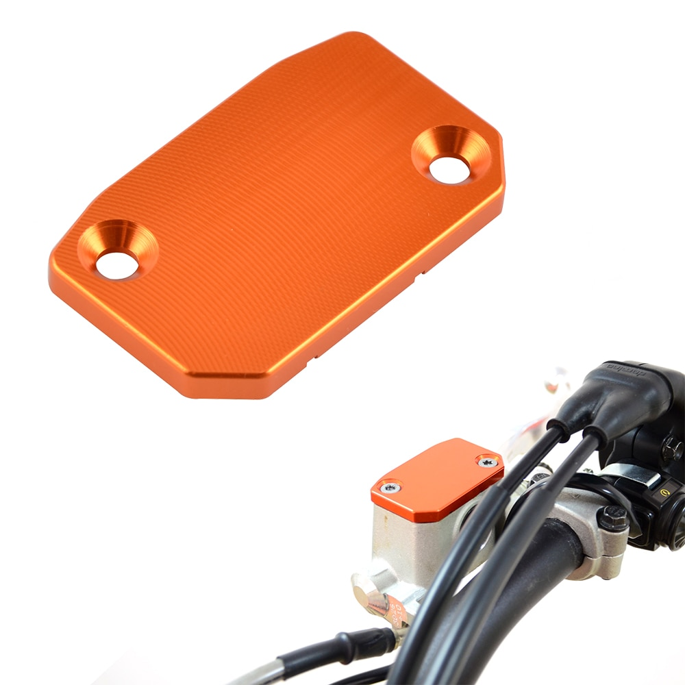 CNC Front Clutch Master Cylinder Reservoir Cover For KTM 125 200 250 300 350 400 450 500 525 530 EXC EXCR XC XCW SX SXF XCF SMR