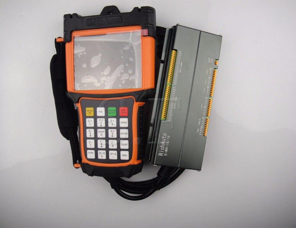 4 ejes cnc Sistema de control de Movimiento A58 DSP sistema de control richauto marca envío gratis