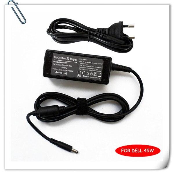Cargador de CA/adaptador de corriente para Dell XPS 13 Ultrabook 45W 19,5 V 2.31A LA45NM121 XPS13-9001SLV cargador de batería portátil