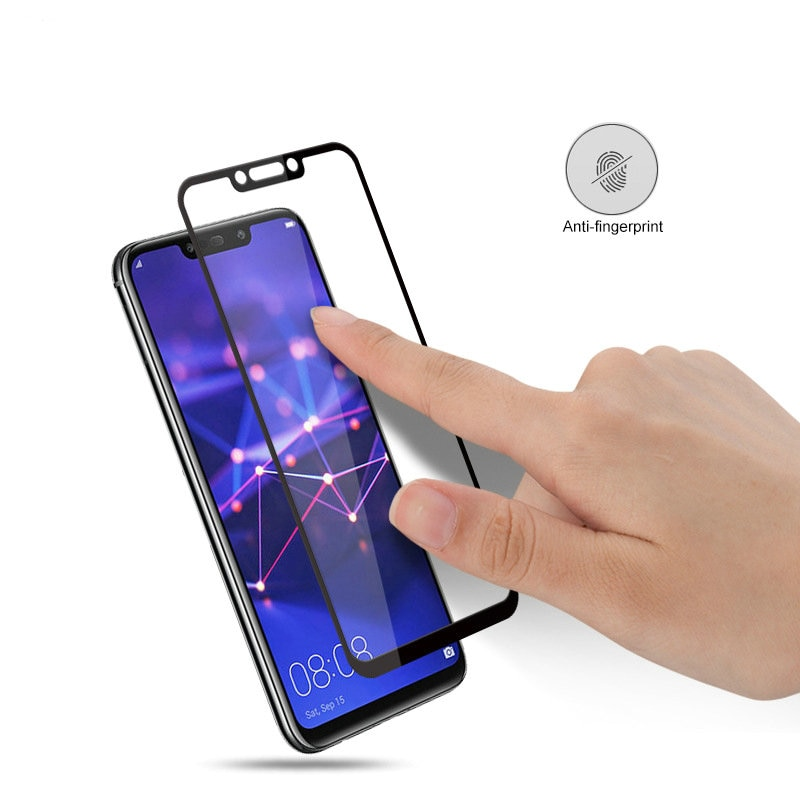 Para Huawei Companheiro 20 Lite 9 H completa Tampa de Vidro Temperado Protetor de Tela para Huawei Companheiro 20 Lite SNE-LX1 SNE-LX2 filme De Vidro SNE-LX3