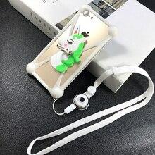 Für Allgemeine Mobile GM 5 Plus/GM 6/4G fall Drehen Ring Telefon abdeckung android einem fall universal Weiche TPU GM5 GM6 Lanyard Fall