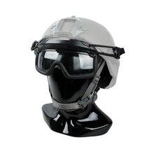 TMC SF QD casque à dégagement rapide Rail tactique lunettes Anti-buée BK OD CB WG(SKU051164)