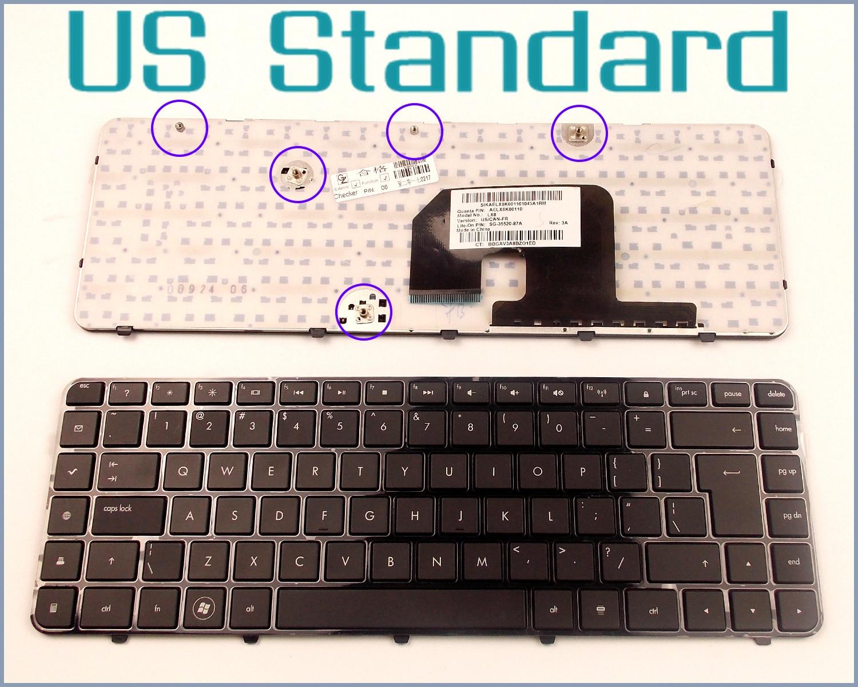 US English Version Keyboard for HP Pavilion 597635-001 597630-001 606744-031 606743-001 AELX6U00210