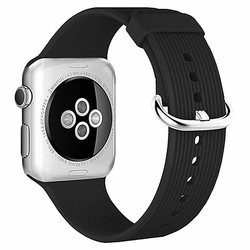 ASHEI Newst, correas deportivas para Apple Watch, Correa 42mm 38mm, accesorios de correa, pulsera para Iwatch, correas, serie 1/2/3, pulsera