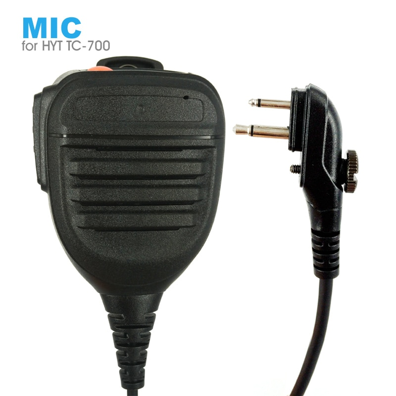 PTT Hand Microphone Speaker Mic for HYT Hytera TC-700 TC-610 TC-620 TC-500 TC-518 TC-580 TC-446S TC-600 TC-618 Walkie Talkie