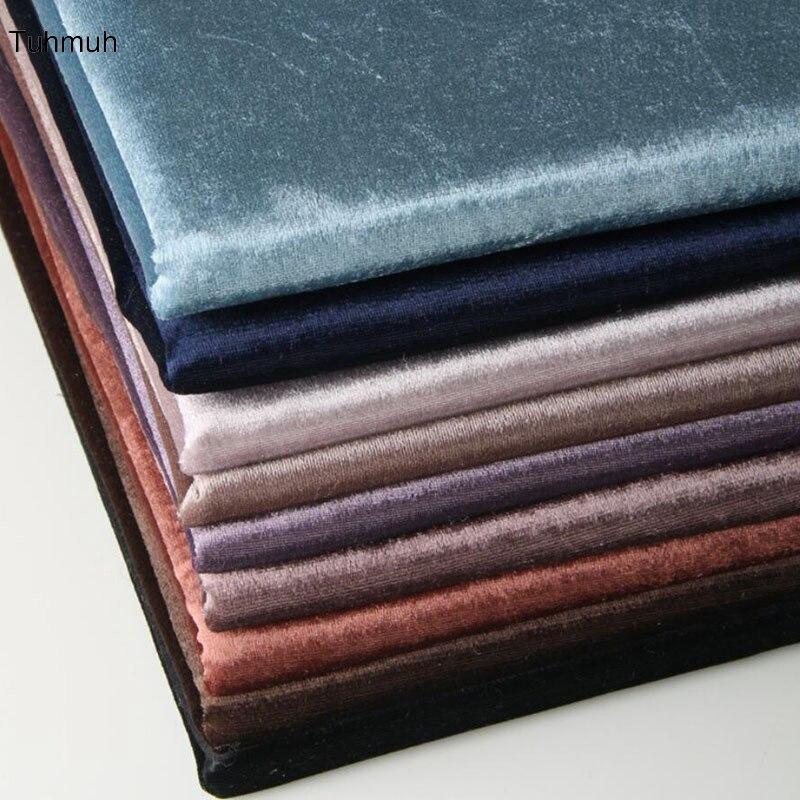 1 metro, 145cm de ancho, tela teñida de rayón, DIY tela textil para el hogar, tela para cortinas, sofá, mesa, tela de cojín