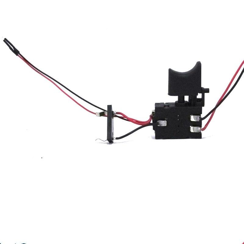 1 pc broca Sem Fio DC 10.8 V 12 V Interruptor interruptor de substituição para Makita broca chave de fenda chave de fenda com luz led boa qualidade