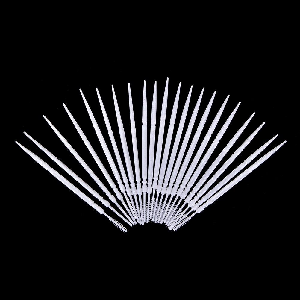 300 Uds Dental cepillo Dental palillos de dientes cepillo Interdental cepillo de dientes limpiador de higiene Oral palillo Dental palillo de dientes