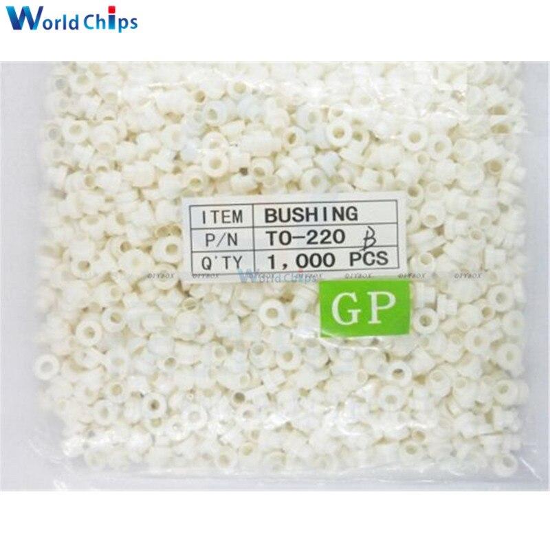 100PCS Isolierende Tabletten Isolierung Buchse Transistor Pads Kreis ZU-220
