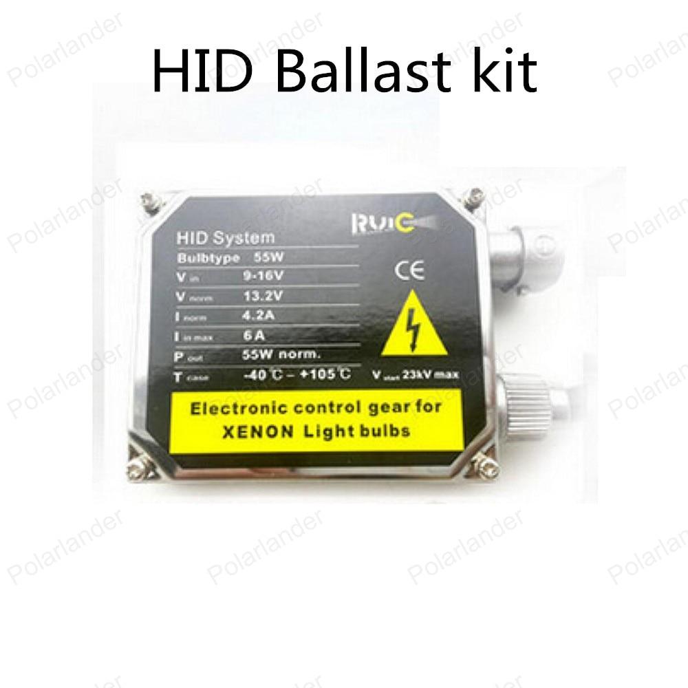 Lowest Price!!! 55W HID Kit Car Headlight Bulbs Slim Ballast H1 H3 H7 H4 H10 H11 880 9005 9006