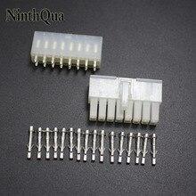 1 jeu de bornes électriques 5557 5569 16P   Broches droites, connecteur électrique 4.2mm 16Pin, prise de prise, pour voiture Auto PC ATX