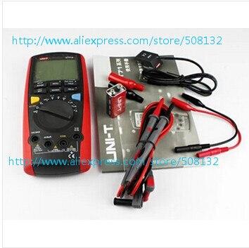 Multímetro multímetro inteligente DMM UNI-T UT71C UT-71C valores eficaces verdaderos 40000 recuentos multímetro Digital w/Prueba de Temperatura
