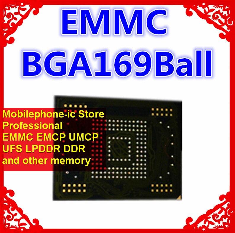 KMV2U000CM-B503 BGA169Ball EMMC 32GB teléfono móvil memoria nuevo original y de segunda mano bolas soldadas probado OK