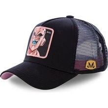 Nouvelle marque Majin Buu tous les Styles Dragon Ball Snapback coton casquette de Baseball hommes femmes Hip Hop papa maille chapeau camionneur chapeau livraison directe
