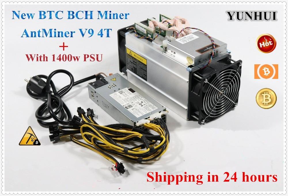 YUNHUI-جهاز تعدين بيتكوين Asic أفضل من Antminer S9 T9 + S9i WhatsMiner M3 E9 ، جهاز تعدين مع PSU