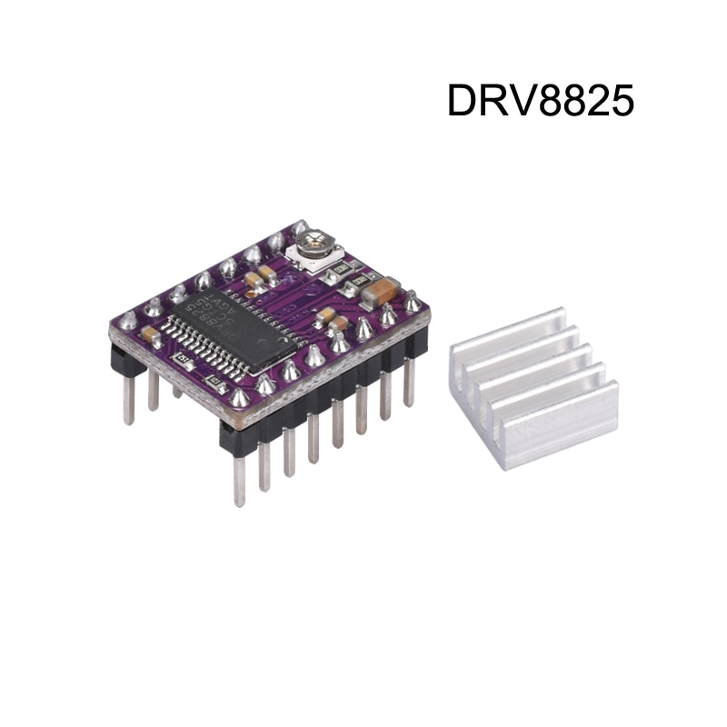 Запчасти для 3D-принтера StepStick DRV 8825 DRV8825, шаговый двигатель, драйвер модуля Reprap 4, PCB плата, замена A4988