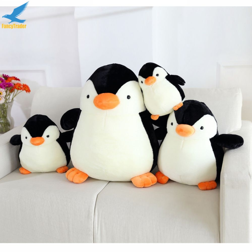 Fancytrader 28'' Soft Plush Polar Penguin Toy Giant Stuffed Animal Penguins Doll 70cm Nice Kids Gifts Real Pictures